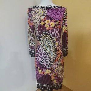 ECI New York Colorful Dress 10